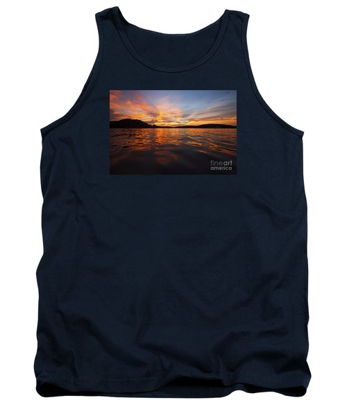 Ozark Sunset Tank Top by Dennis Hedberg