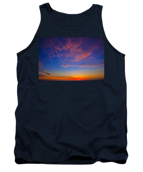Pacific Coast Sunset Tank Top