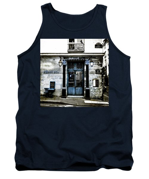 Paris Blues Tank Top