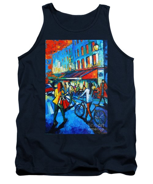 Parisian Cafe Tank Top