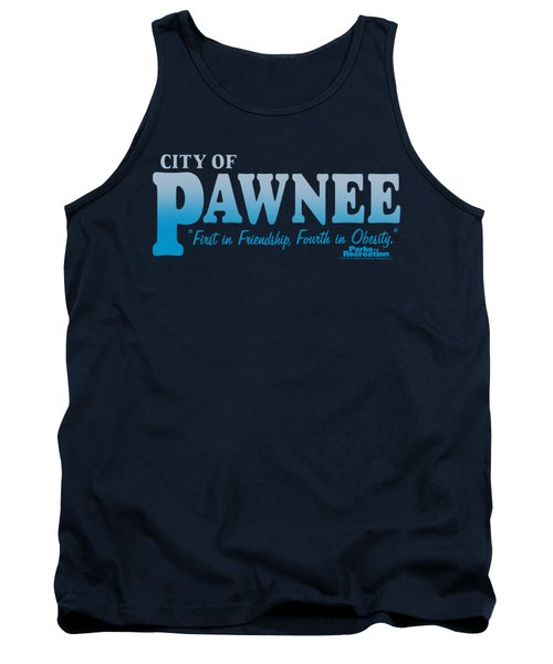 Parks And Rec - Pawnee Tank Top