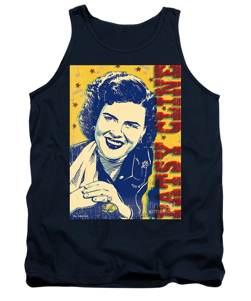 Patsy Cline Pop Art Tank Top