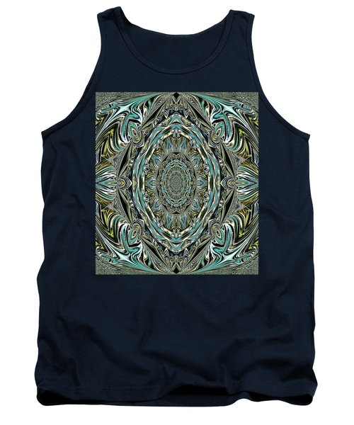 Tank Top featuring the photograph Pattern. Art For Home And Office by Oksana Semenchenko