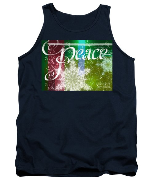 Peace Greeting Tank Top