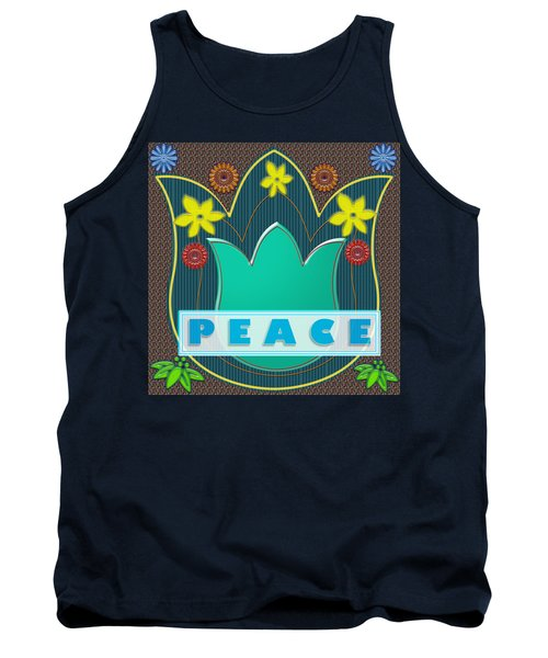 Peace War Political Social Economic Poverty Terrorism Justice Background Designs  And Color Tones N  Tank Top