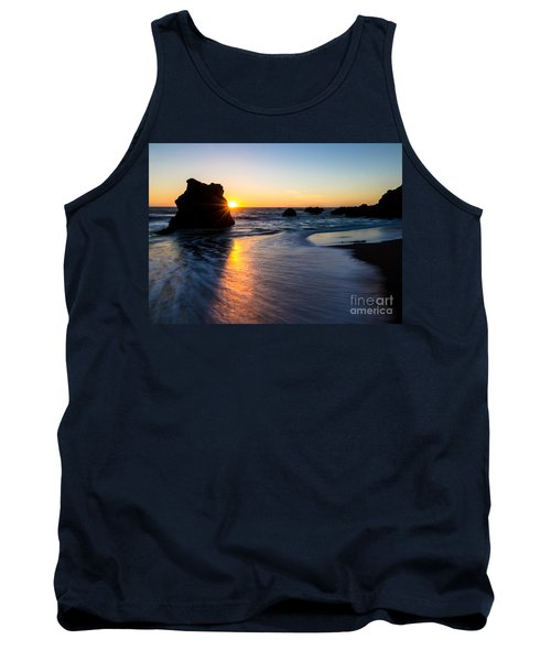 Tank Top featuring the photograph Peeking Sun by CML Brown