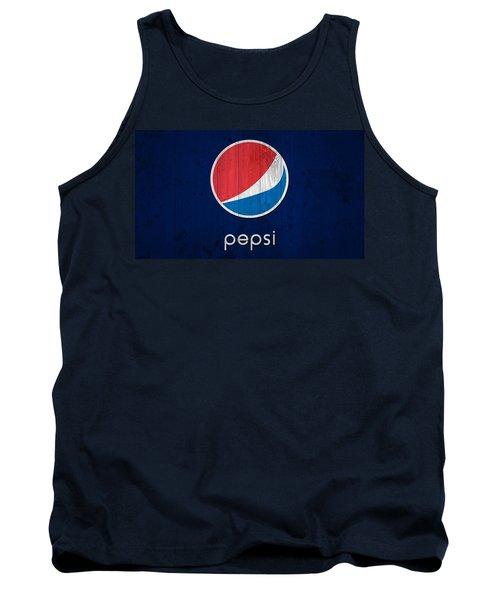 Pepsi Barn Sign Tank Top by Dan Sproul