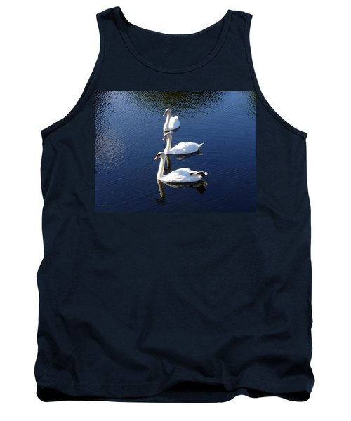 Tank Top featuring the photograph Perfect Family Gathering by Lingfai Leung
