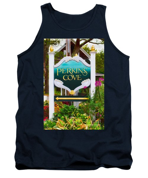 Perkins Cove Sign Tank Top