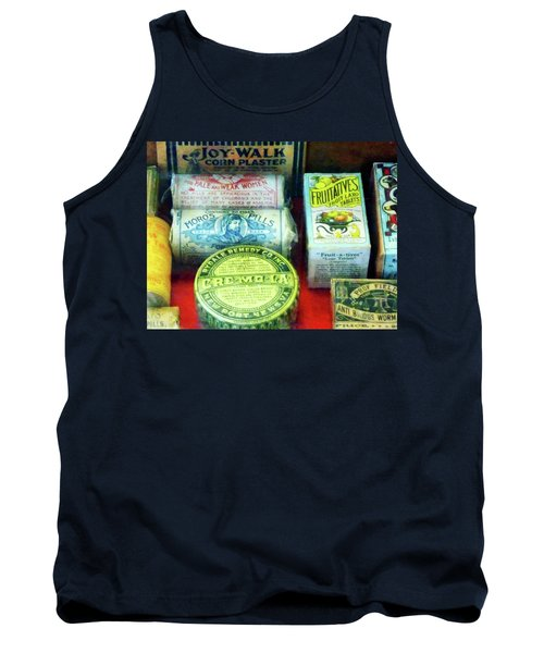 Pharmacy - For Aches And Pains Tank Top by Susan Savad
