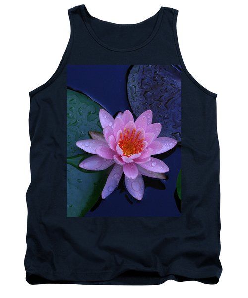 Tank Top featuring the photograph Pink Waterlily by Raymond Salani III