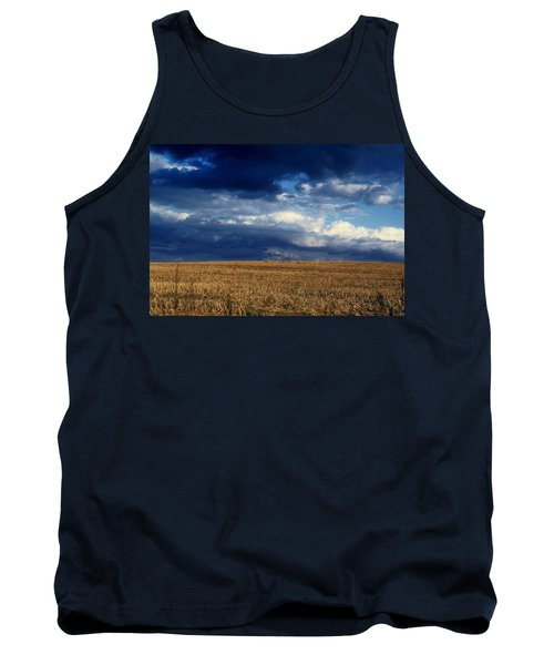 Tank Top featuring the photograph Plain Sky by Rodney Lee Williams