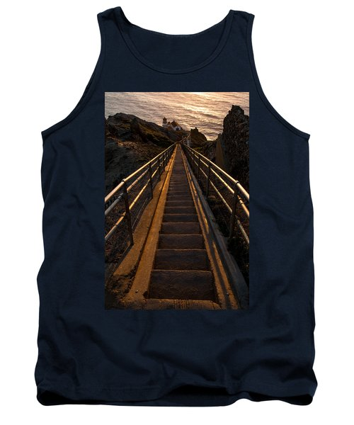 Point Reyes Lighthouse Staircase Tank Top