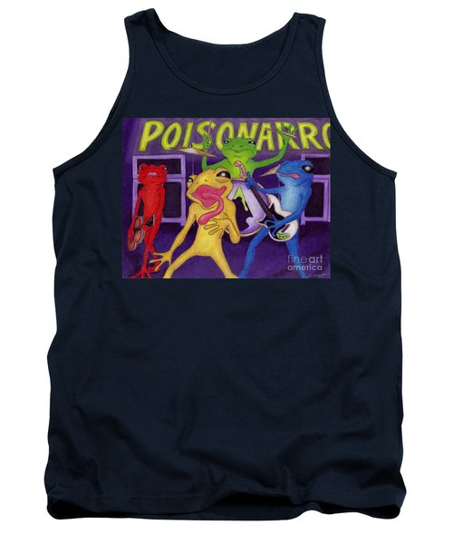 Poison-arrow Frog Band Tank Top by Samantha Geernaert