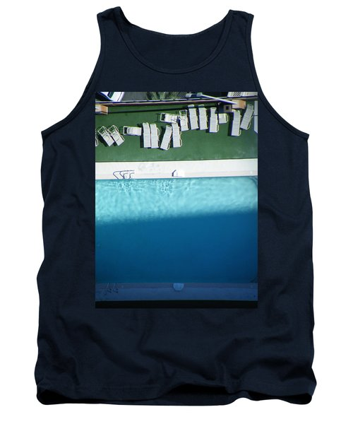 Poolside Upside Tank Top by Brian Boyle