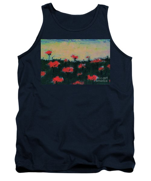 Poppy Field Tank Top