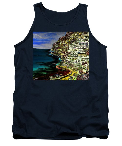 Positano At Night Tank Top
