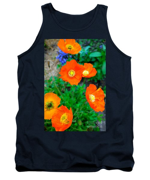 Pretty In Orange Tank Top by Jacqueline Athmann