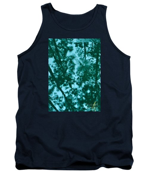Tank Top featuring the photograph Puddle Of Pines by Joy Hardee