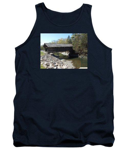 Pumping Station Covered Bridge Tank Top