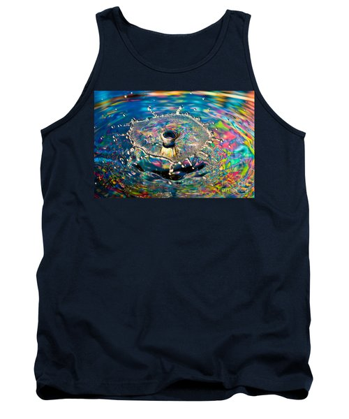 Rainbow Splash Tank Top