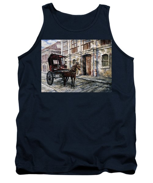 Red Carriage Tank Top