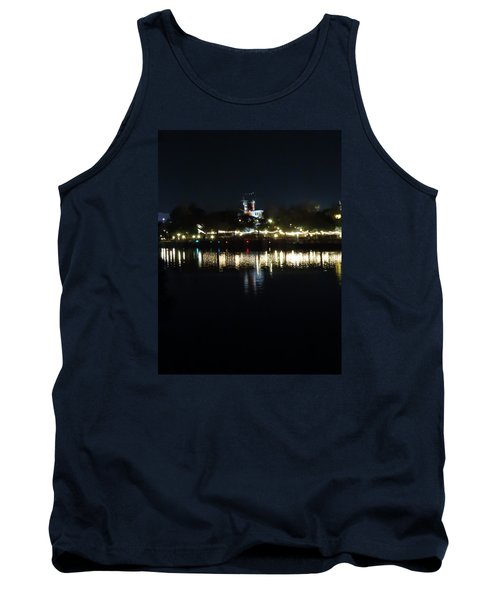 Reflection Of Lights Tank Top by Kathy Long