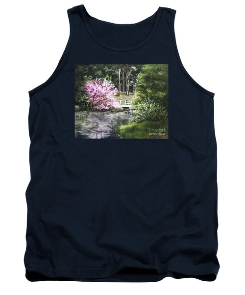 Reflections Of Spring Tank Top