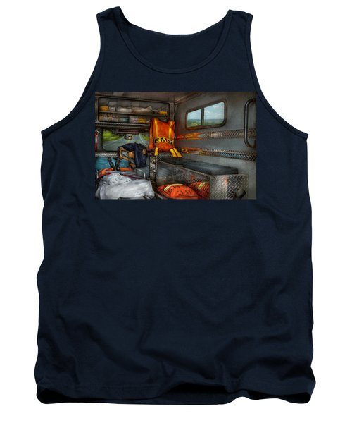 Rescue - Emergency Squad  Tank Top by Mike Savad