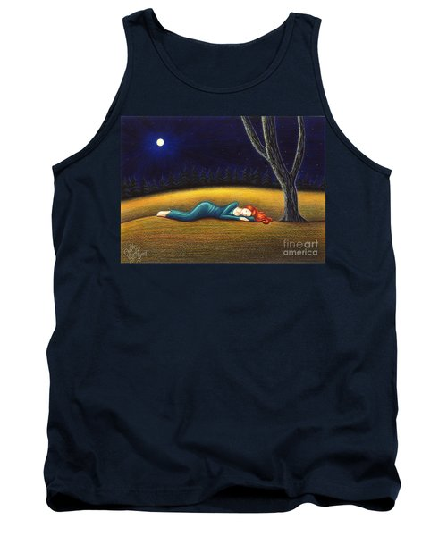 Rest For A Weary Heart Tank Top by Danielle R T Haney