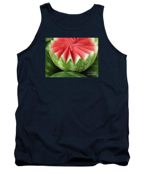 Ripe Watermelon Tank Top by Ann Horn