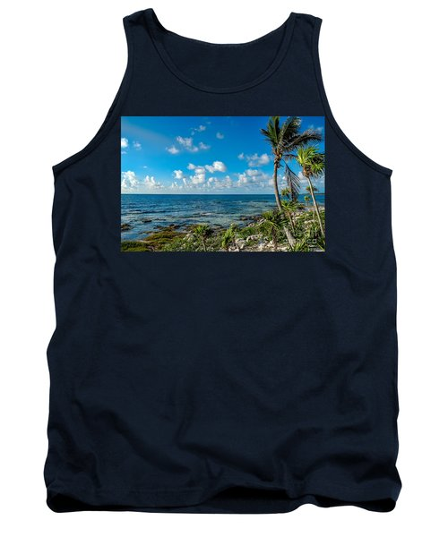 Cave Diving Country Tank Top