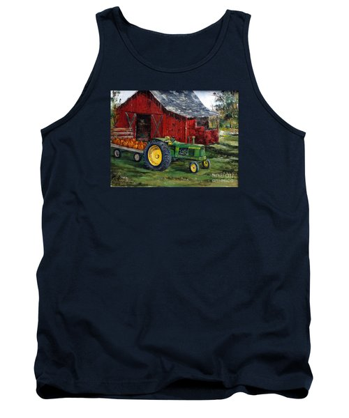 Rob Smith's Tractor Tank Top by Lee Piper