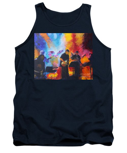 Rock And Roll Tank Top by Jan Bennicoff