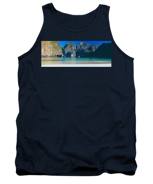 Rock Formations In The Sea, Phi Phi Tank Top