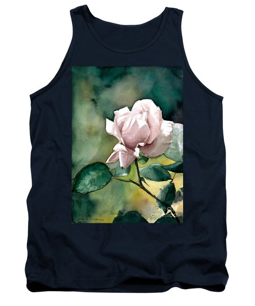 Watercolor Of A Lilac Rose  Tank Top
