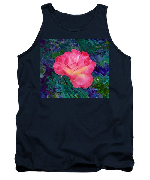 Rose In The Matter Of Your Hand V7 Tank Top