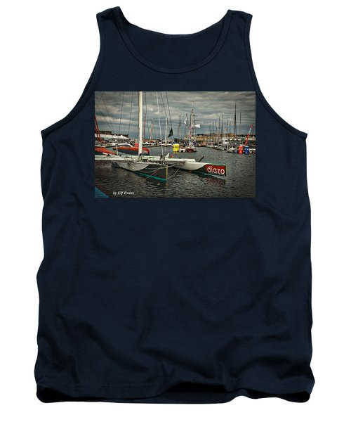 Tank Top featuring the photograph Route Du Rhum Ready by Elf Evans