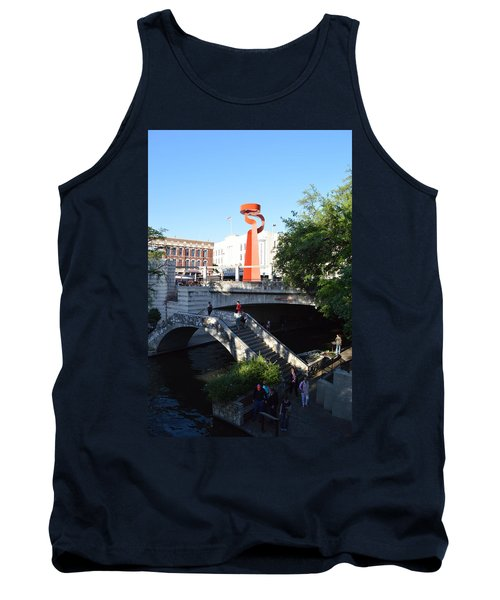 Tank Top featuring the photograph Sa River Walk by Shawn Marlow