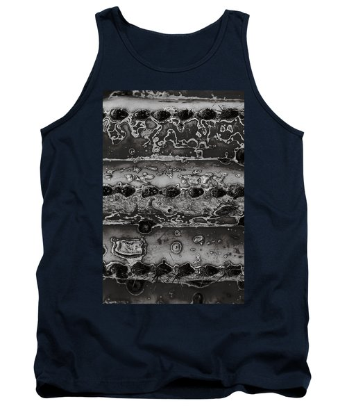 Saguaro Cactus Black And White 2 Tank Top