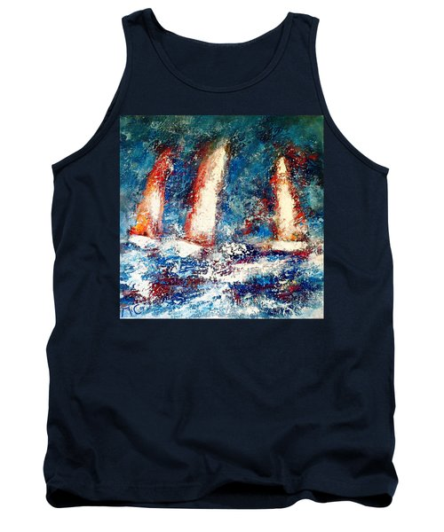 Sail On Tank Top