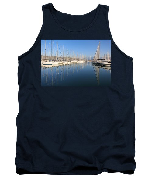 Sailboat Reflections Tank Top