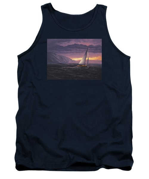 Sailing In Paradise - Big Sur Tank Top
