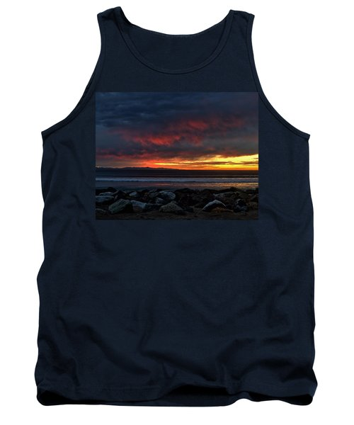 Tank Top featuring the photograph Santa Cruz Rocks by Michael Gordon