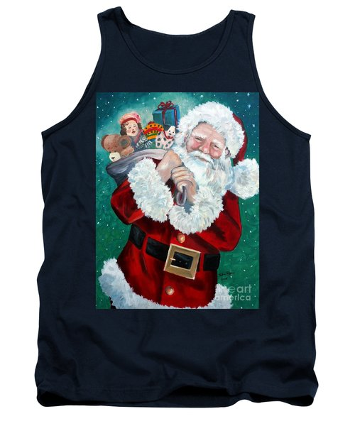 Santa's Coming To Town Tank Top