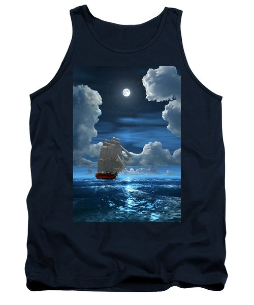 Santisima Trinida In The Moonlight 2 Tank Top