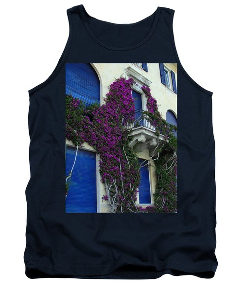 Tank Top featuring the photograph Scaling The Wall by Natalie Ortiz