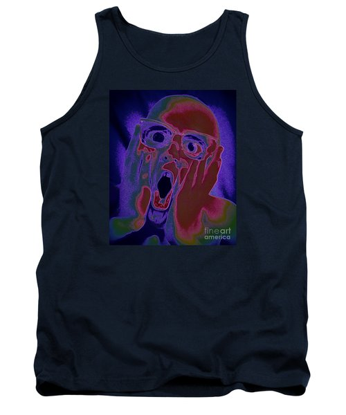 Scared Silly Tank Top by Paul  Wilford