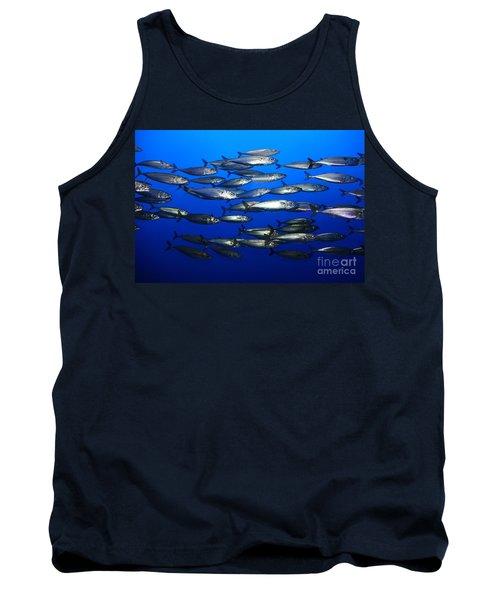 School Of Pacific Sardines 5d24927 Tank Top