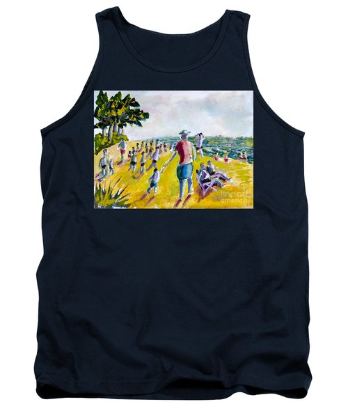 School's Out On The Beach Tank Top